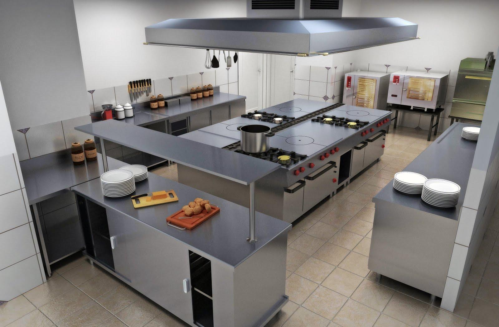 Plano cocina restaurante dise os arquitect nicos for Pdf de cocina